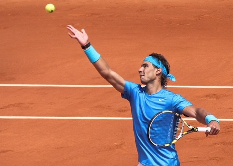 Nadal tangerar Roger Federers rekord i antal Grand Slam-titlar.  Foto: y.caradec/Wikimedia Commons