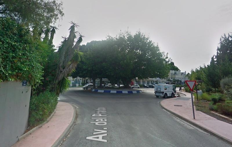 En brittisk man sköts i ansiktet på Avenida del Prado i Nueva Andalucía, lördag 17 oktober.