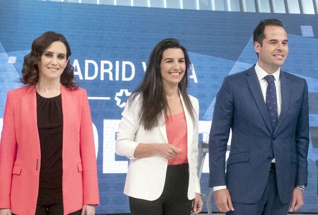 Madridregionen styrs av Partido Popular och Ciudadanos, med stöd av Vox.