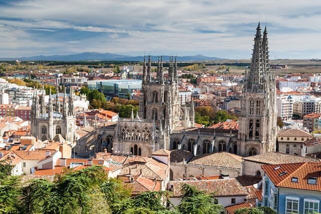 Katedralstaden Burgos isoleras från och med 21 oktober.