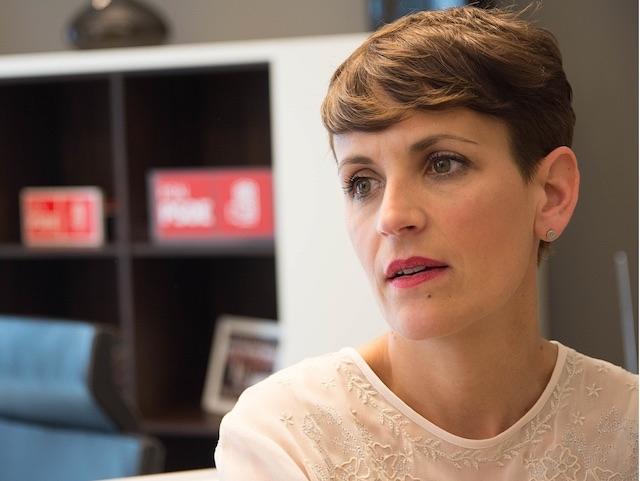 Regionalpresidenten María Chivite (PSOE) finner att situationen är ytterst bekymmersam.