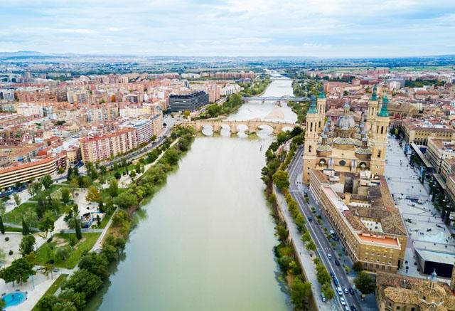 Lock down införs i Zaragoza, liksom i de två övriga provinshuvudstäderna i Aragonien.