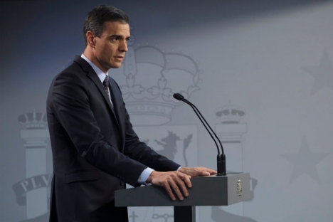 Pedro Sánchez vill ha parlamentets stöd redan nästa vecka för att upprätthålla nödläget till 9 maj.