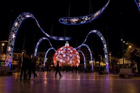 Det blir ingen gigantisk julkula på Plaza de España i Fuengirola i år.