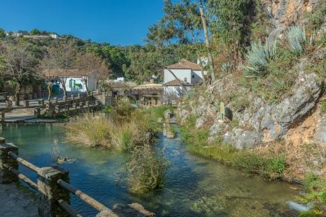 Valle del Genal är ett av de områden i Málagaprovinsens inland som upplevt en kraftigt ökad turism under pandemin. Bilden visar byn Igualeja.