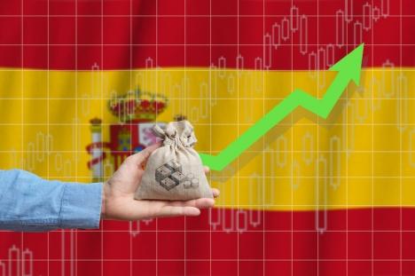 Spanien var det land i eurozonen med störst tillväxt under tredje kvartalet, efter Frankrike.