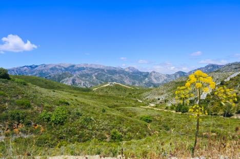 Sierras de Tejeda, Almijara y Alhama utanför Nerja erbjuder ett flertal vandringsleder.