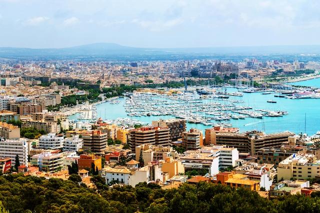 Hotellbeläggningen i Palma stad ligger endast runt 15 procent.