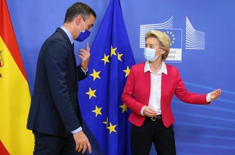En ekonomiska återhämtningen i Spanien kommer enligt EU dröja ytterligare.