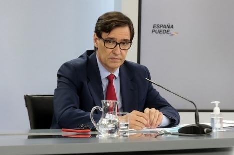 Hälsovårdsdepartementet som leds av Salvador Illa får hård kritik för att inte svara på förfrågningar från statens eget transparensorgan.
