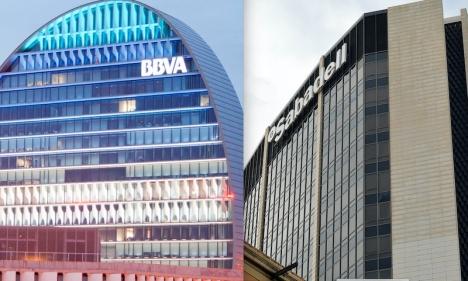 Överläggningarna befinner sig ännu på ett tidigt stadium men om unionen mellan BBVA och Sabadell genomförs, blir de Spaniens andra största bank.