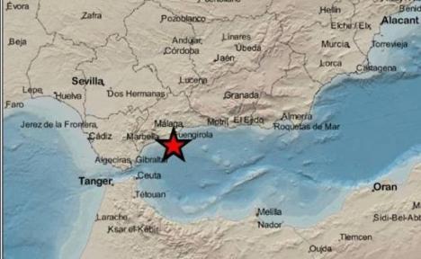 Jordskalvet uppmätte 3,1 på Richterskalan.