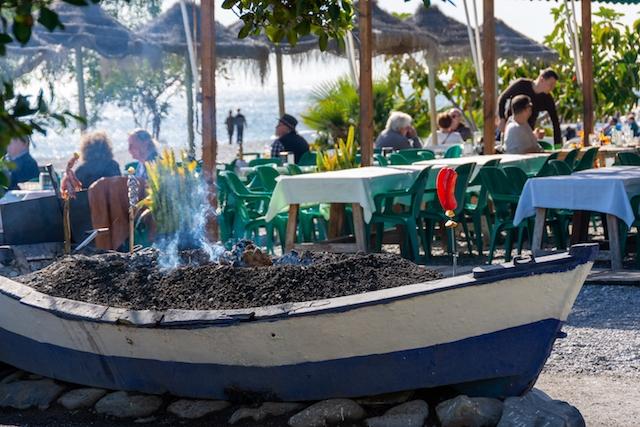 Denna vy blir åter möjlig i Almuñécar från och med 24 november, när barer och restauranger på nytt får öppna.