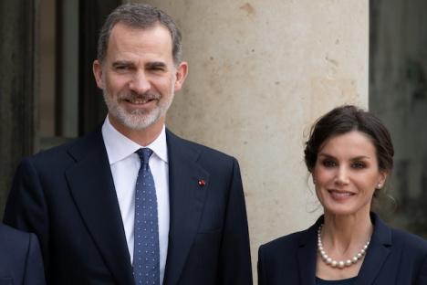 Kung Felipe är den tredje i familjen att isolera sig, efter att ha varit i kontakt med någon som befunnits smittad av SARS-CoV-2.