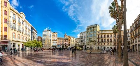Invånarna i Málaga stad trivs med att bo där de gör och en stor majoritet ser sig som lyckliga.