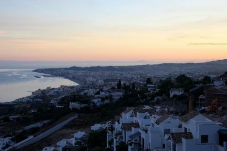 Stora delar av Fuengirola och delar av Mijas var utan el under fem timmar den 14 december.