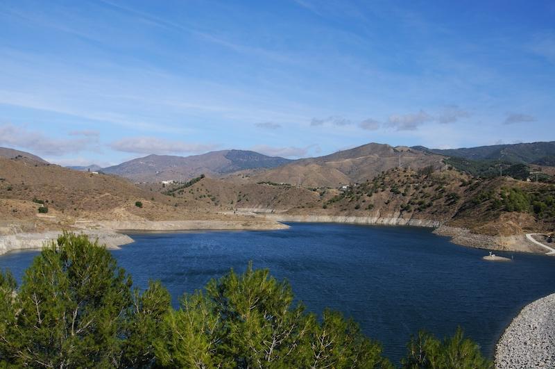 La Concepción i Istán, är den vattenreservoar i Málagaprovinsen som fyllts på bäst av det senaste ovädret. (Arkivbild)