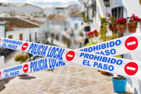 Perimeterkarantänen i olika andalusiska kommuner gäller från och med 17 januari och kommer att variera från en dag till en annan.