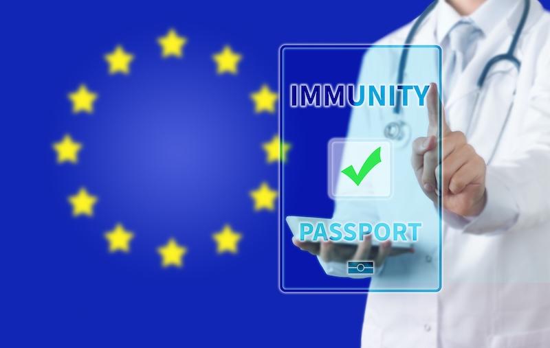Frågan om ett vaccinpass tas upp på EU:s digitala toppmöte 21 januari.