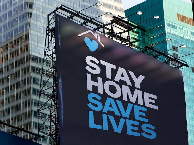 Stanna hemma, rädda liv. Inte främst ditt eget, utan alla andras.