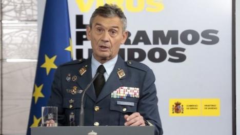 Spaniens överbefälhavare Miguel Ángel Villaroya presenterade 23 januari sin avskedsansökan.