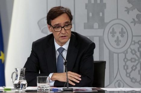 Salvador Illa har haft det högsta ansvaret för bekämpningen av pandemin i Spanien.