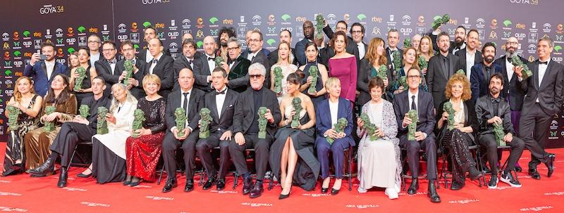Förra årets Goya-gala hölls 25 januari i Málaga. Foto: Pedro J Pacheco, Wikimedia Commons
