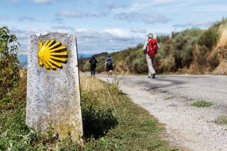 """Jakobsleden """"El Camino de Santiago"""" lockar vanligtvis hundratusentals pilgrimer varje år till Santiago de Compostela. Pandemin har dock slagit hårt mot en av de viktigaste inkomstkällorna i hela Galicien."""