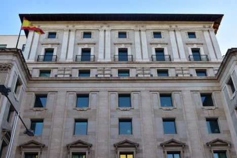 Skattedepartementet i Madrid.