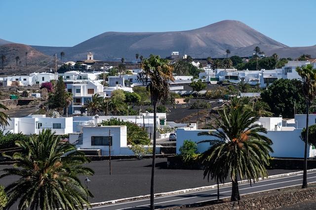 Byn Yaiza, på Lanzarote.