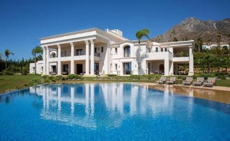 En villa i Sierra Blanca har sålts för 40 miljoner euro.