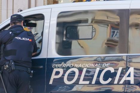 Antalet registrerade brott i Málagaprovinsen minskade med 16,7 procent mellan 2019 och 2020.