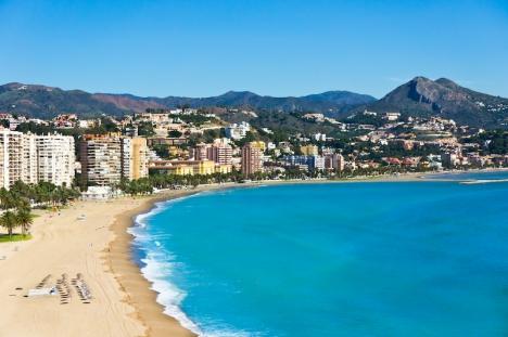 De områden som hade mest aktivitet på bostadsmarknaden 2020 var främst kust- och turistkommunerna, däribland Málaga.