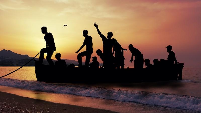 Trots att 23.000 afrikanska båtflyktingar anlände till Kanarieöarna 2020, står dessa för endast nio procent av asylsökningarna i ögruppen.