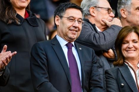 Josep María Bartomeu misstänks ha brukat klubbmedel för att smutskasta bland annat Messi.