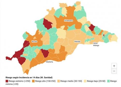 Lättnaderna gäller samtliga kommuner som understigit en smittfrekvens på 150 fall per 100.000 invånare, de senaste två veckorna.