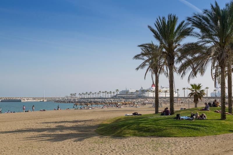 Det blir strandväder på flera platser på Costa del Sol idag, bland annat i Málaga stad!