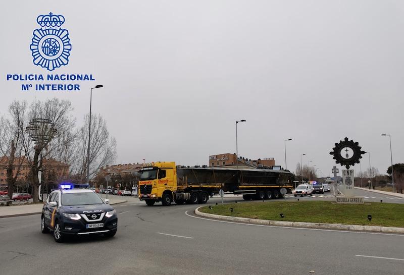 Spansk polis har beslagtagit den första narkotikaoubåten tillverkad i Europa. Foto: Policía Nacional