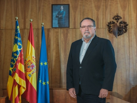 Ramón López Cabrera var ansvarig för utbildning, säkerhet och stränder. Foto: Ayto de Orihuela