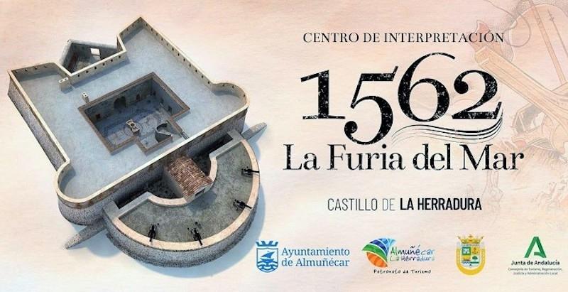 Den nya museidelen på Castillo de La Herradura, invigs 19 mars. Foto: Ayuntamiento de Almuñécar