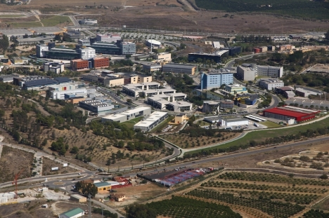Parque Tecnológico de Andalucía, PTA i Málaga, blir platsen för regionens nya digitala organ.