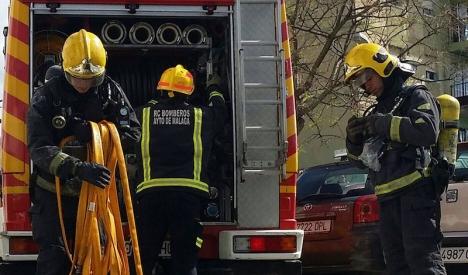 Flera personer rökskadades och en äldre man omkom i en brand i centrala Torremolinos 23 mars. Foto: Junta de Andalucía