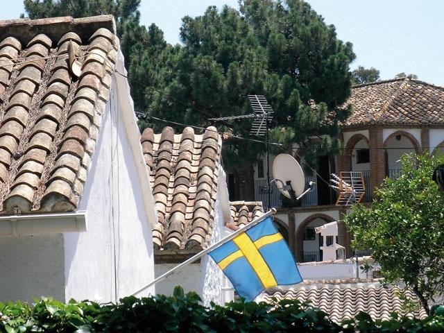 Svenskarna stod för 13 procent av de utländska fastighetsköpen på Costa del Sol 2020.