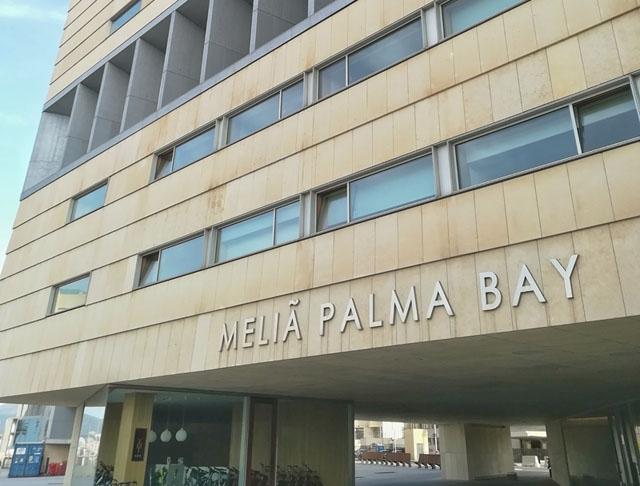 Hotell Meliá Palma Bay lånades ut redan i mars förra året för att brukas som karantäncenter.