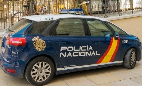 Gripandet gjordes av Policía Nacional mindre än 48 timmar efter dådet.
