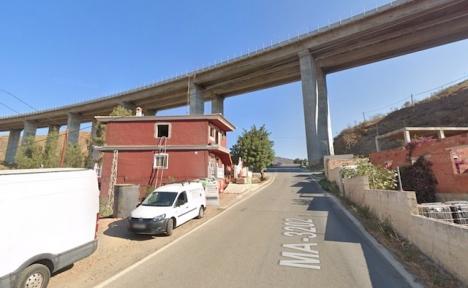 Viadukten vid Totalán. Foto: Google Maps