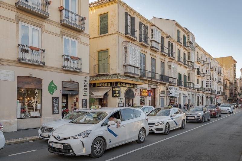 De bilar som orsakar mest partikelutsläpp kommer att få en allt mer begränsad tillgång till Málagas centrala delar.