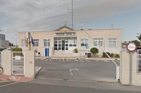 Polisstationen i Torrevieja. Foto: Google Maps