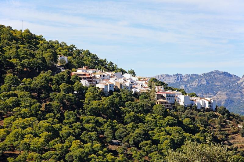 Pujerra är en av fem kommuner i Málagaprovinsen som tvingats införa perimeterkarantän, på grund av den höga smittspridningen.