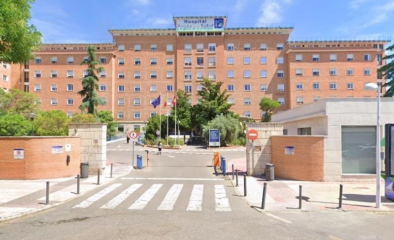 En 30-årig manlig lärare har avlidit på sjukhuset i Toledo av vad som misstänks vara allvarliga biverkningar av AstraZenecas vaccin. Foto: Google maps